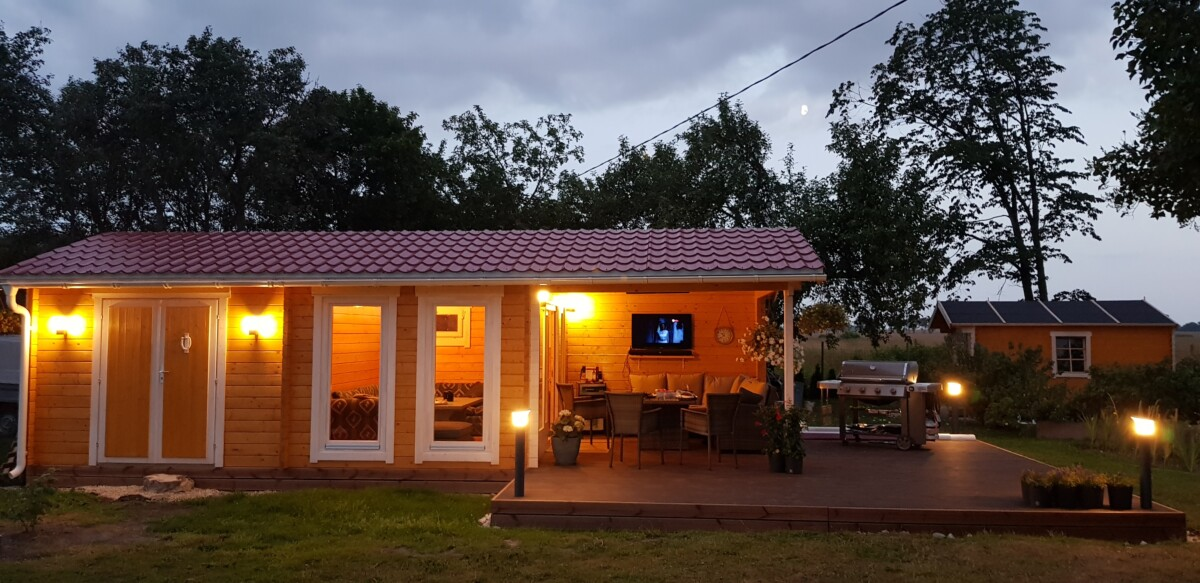 Garten-Holzhaus Robin