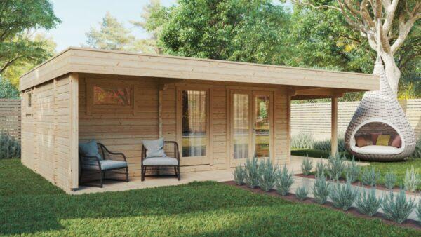 Gartenhaus mit Sauna