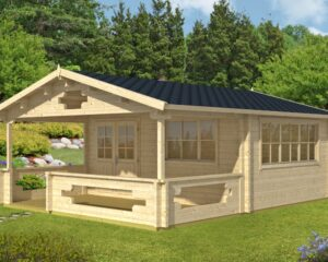 Summer house Armin 19m² / 5,3 x 6,7 m / 70mm