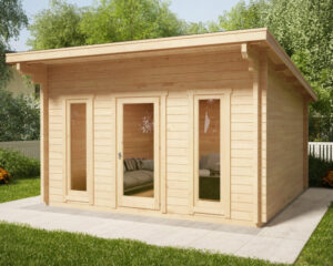 Summer house Aruba 15m² / 4,1 x 4,1 m / 44mm