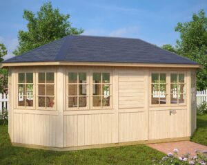 Summer house Albatros XL 15m² / 5,4 x 3,4m / 21mm
