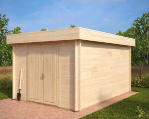 Garden shed Jacob A 12m² / 3,2 x 4,4 m / 40mm