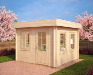 Summer house Lucas C 8,5m² / 3,2 x 3,2 m / 40mm