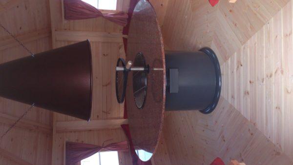 Lappish Grillkota L 9,5m² / 3,6 x 3,6m / 42mm
