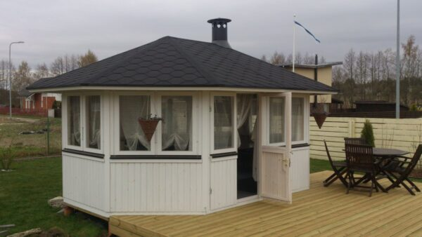 Summer house Albatros 12m² / 4,7 x 3,4m / 21mm