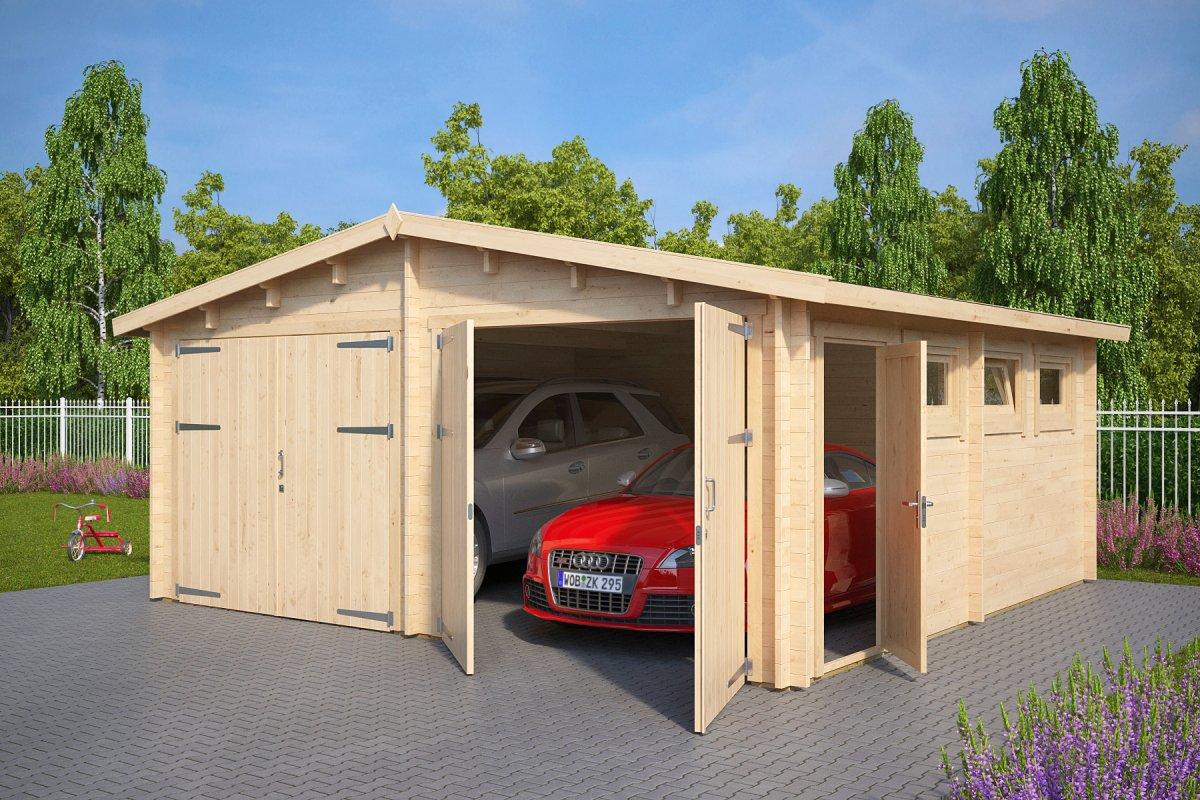 Garage E mit Doppeltür