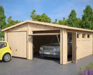Garage E mit Schwingtor
