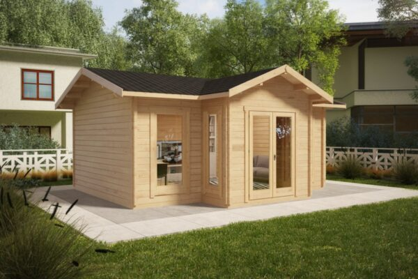 Summer house Eamon 25m² / 6 x 4 m / 50mm