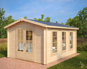 Summer house Eva B 12m² / 3,2 x 4,4 m / 40mm