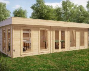 Garden Room A 30m² / 70mm / 8 x 4 m