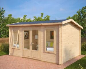 Summer house Eva D 12m² / 3,2 x 4,4 m / 40mm