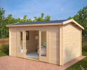 Summer house Eva E 12m² / 3,2 x 4,4 m / 44mm