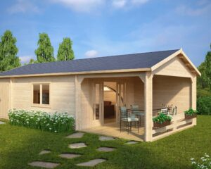 Summer house Heinz 22m² / 9 x 4 m / 44mm
