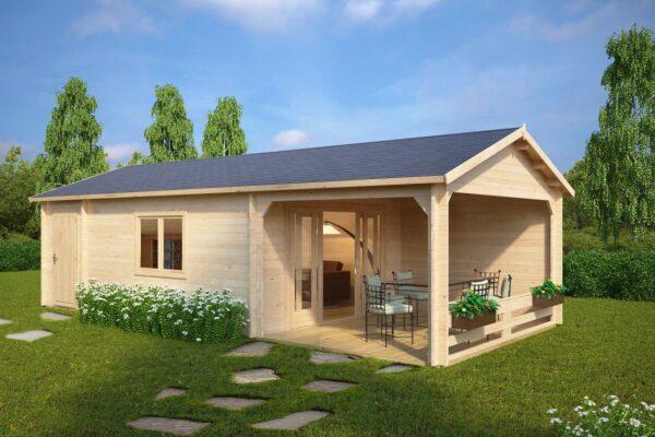 Summer house Heinz 22m² / 9 x 4 m / 44mm