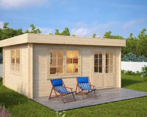 Summer house Ian A 18m² / 5 x 4,1 m / 50mm