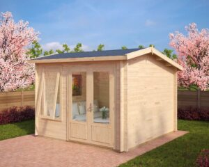 Summer house Nora D 8,5m² / 3,2 x 3,2 m / 40mm