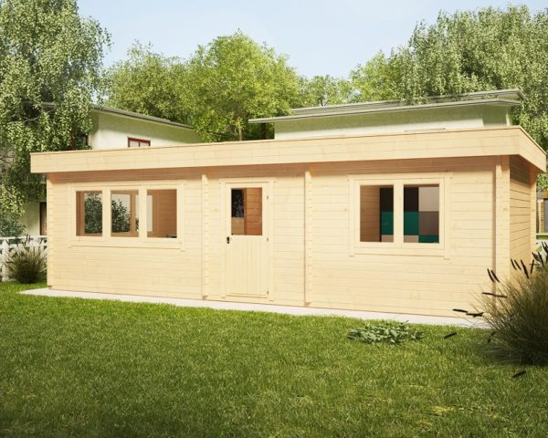 One Bedroom Cabin Holiday I 38m2 / 4,5 x 9 m / 70mm