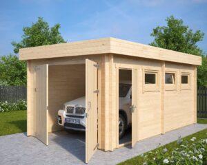 Garage Hansa C mit Doppeltür