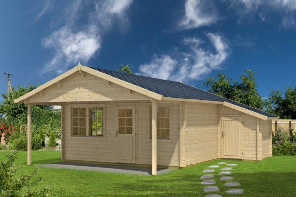 Log cabin Jan 24,5m² / 6,5 x 5 m / 50mm