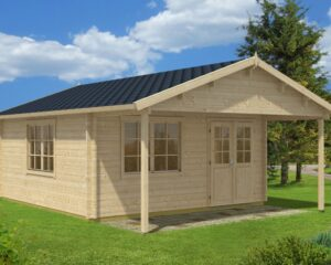 Summer house Karl 22m² / 5 x 5 m / 50mm