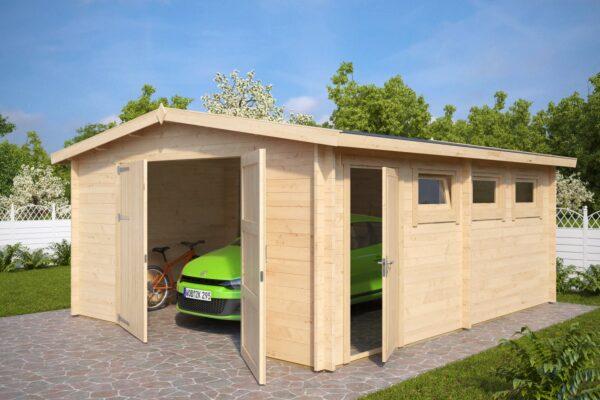 Garage Hansa B mit Doppeltür
