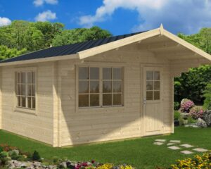 Summer house Marcus A 14,5m² / 4,1 x 4,1 m / 50mm