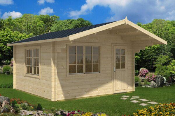 Summer house Marcus A 14,5m² / 4,1 x 4,1 m / 50mm