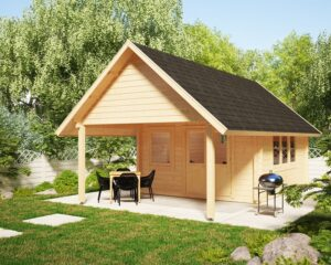 Garden Room Mark 16m2 / 4x4m / 44mm