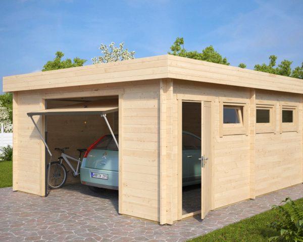 Garage Hansa D mit Schwingtor