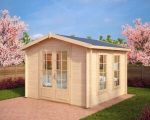 Summer house Nora B 8,5m² / 3,2 x 3,2 m / 40mm