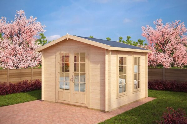 Summer house Nora B 8,5m² / 3,2 x 3,2 m / 40mm