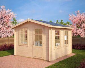 Summer house Nora C 8,5m² / 3,2 x 3,2 m / 40mm