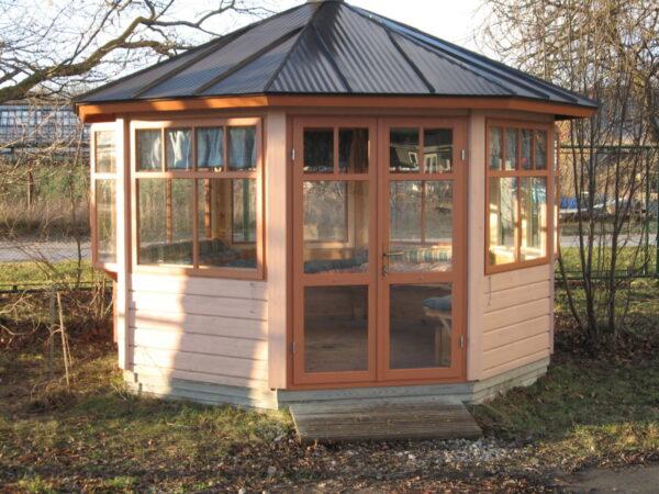 Octagonal summer house Paradise L 9,5m² / 3,6 x 3,6m / 42mm