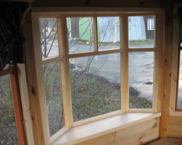 Octagonal BBQ hut Paradise L 9,5m² / 3,6 x 3,6m / 42mm