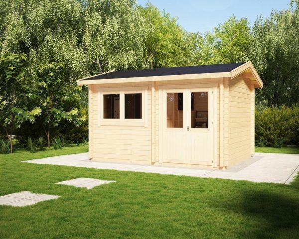 Sauna Cabin Finland 11m2 / 3 x 4 m / 70mm