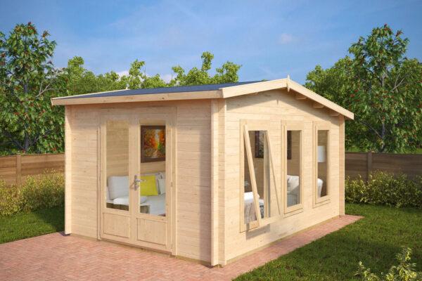 Summer house Eva X 12m² / 3,2 x 4,4 m / 40mm