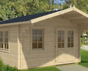 Summer house Marcus B 14,5m² / 4,1 x 4,1 m / 50mm