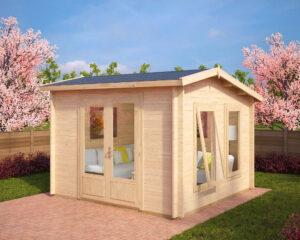 Summer house Nora X 8,5m² / 3,2 x 3,2 m / 40mm