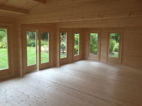 Garden Room D 38m² / 70mm / 8 x 5 m