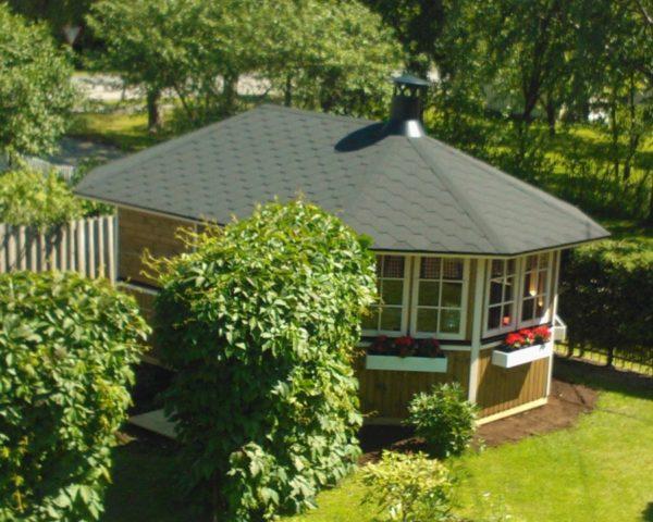 Summer house Albatros XL 15m² / 5,4 x 3,4m / 21mm