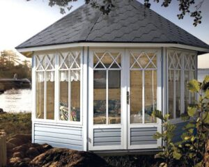 Octagonal summer house Katrin L 9,5m² / 3,6 x 3,6m / 25mm