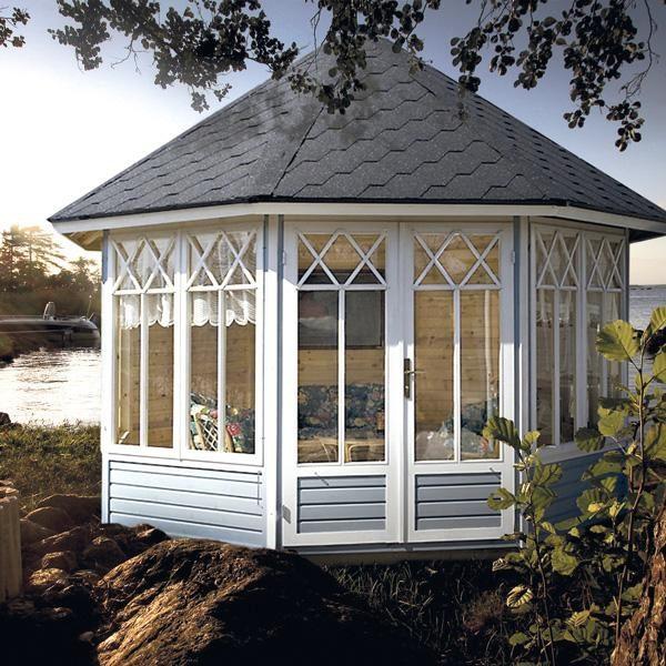 Octagonal summer house Katrin L 9,5m² / 3,6 x 3,6m / 25mm
