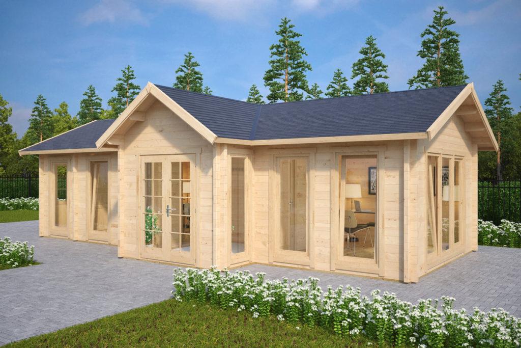 ein gartenhaus bauen eine einfache anleitung schritt f r schritt hansa gartenhaus. Black Bedroom Furniture Sets. Home Design Ideas