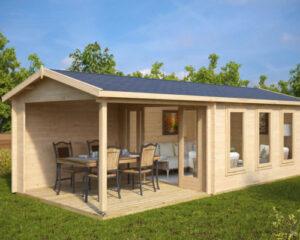 Bekannt Moderne Gartenhäuser - Holzhäuser von HansaGartenhaus AS48