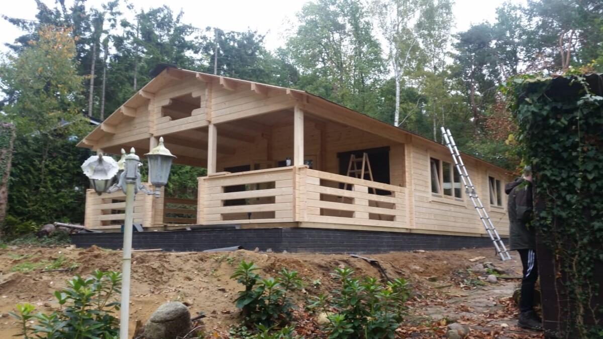 Bauen Sie Ihr eigenes Ferienhaus mit dem Bau-Set von Hansagarten24b