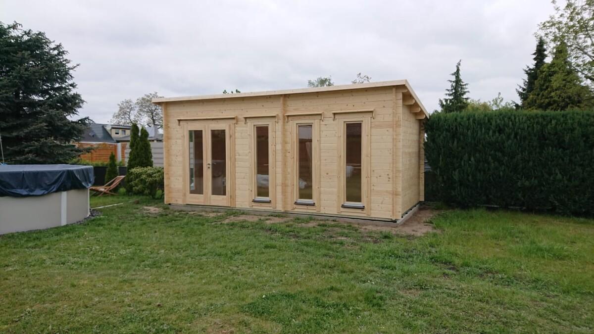 Ein Home Office im eigenen Garten? – Ein Gartenbüro macht's möglich
