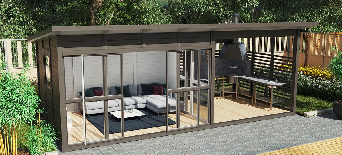 Ein Gartenhaus mit Charakter – Der Gartenpavillon