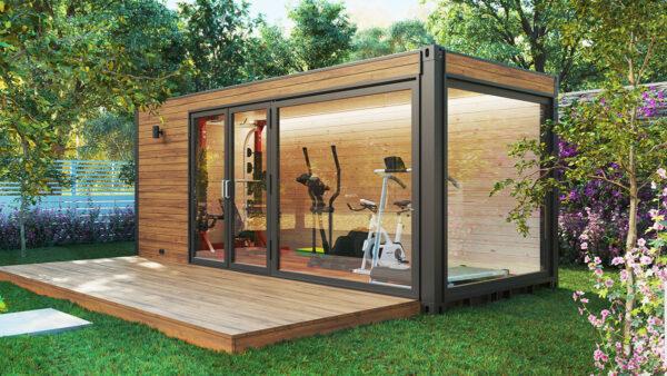 Garten fitnessraum
