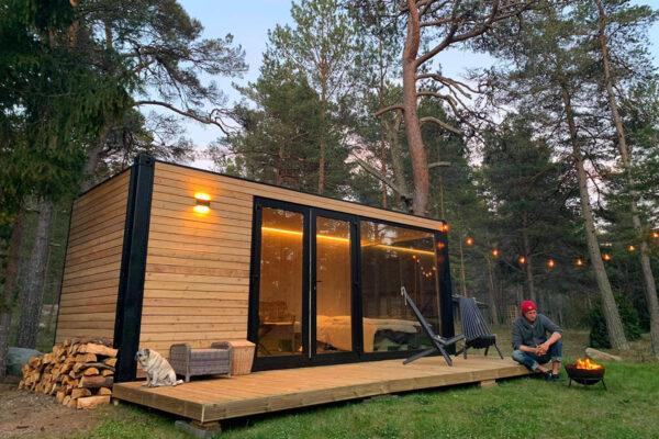 Kleine Container Haus