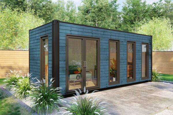 Container Haus V1 Blau